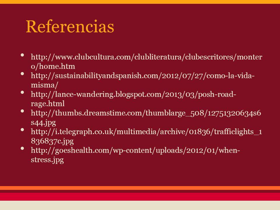 Referencias http://www.clubcultura.com/clubliteratura/clubescritores/montero/home.htm.