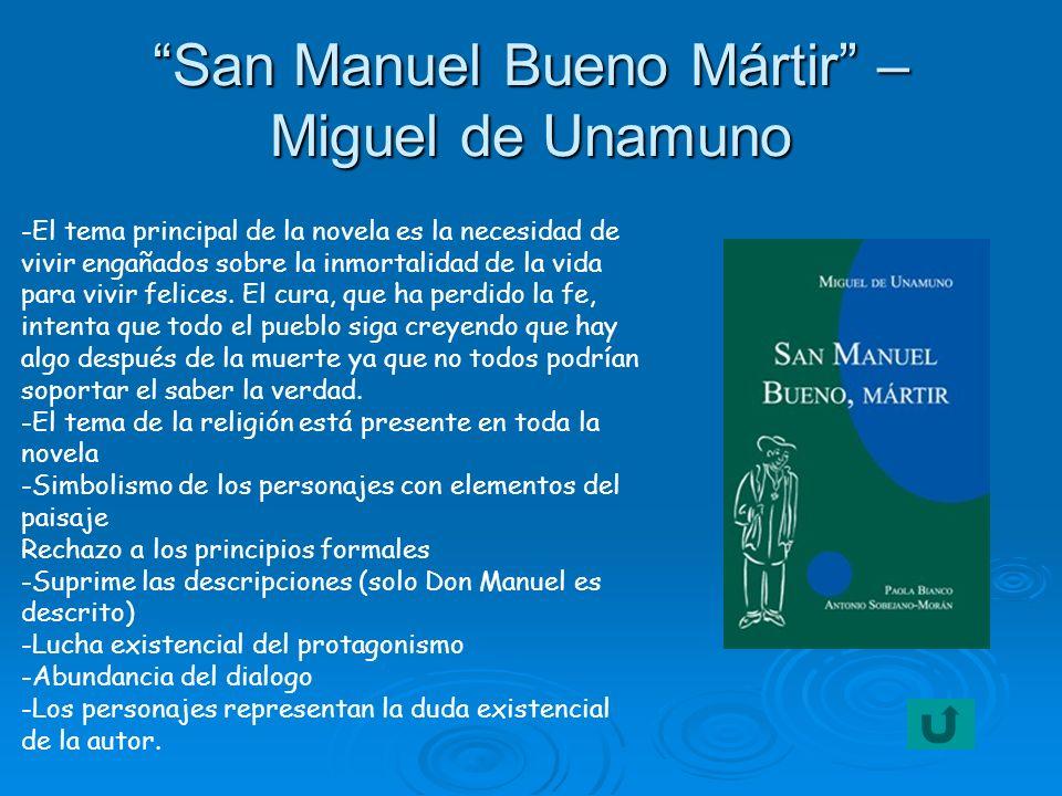 San Manuel Bueno Mártir – Miguel de Unamuno