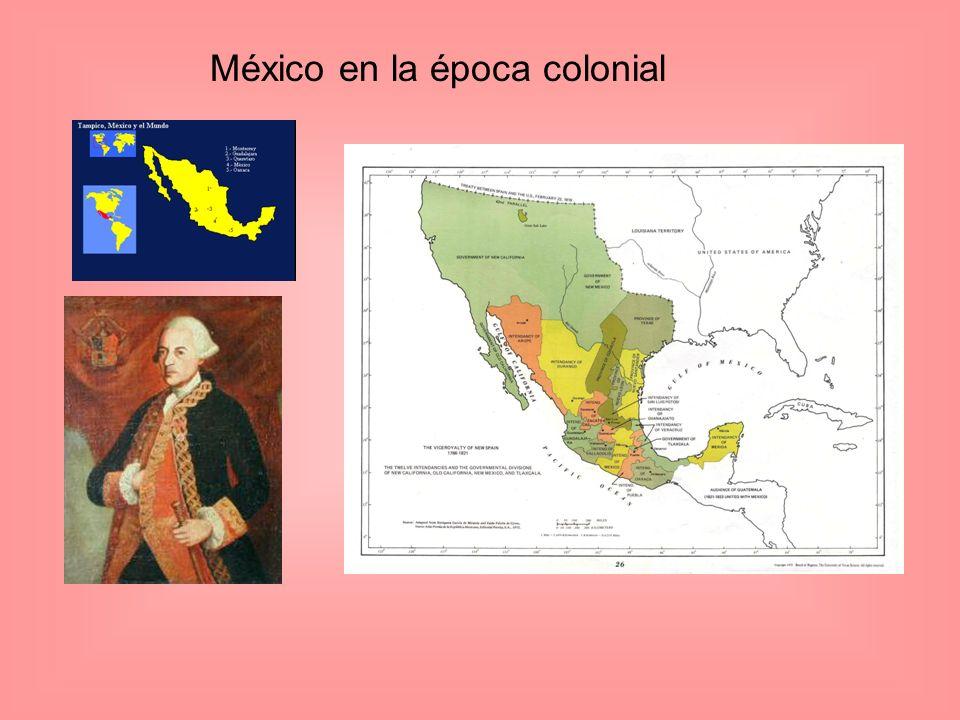 México en la época colonial