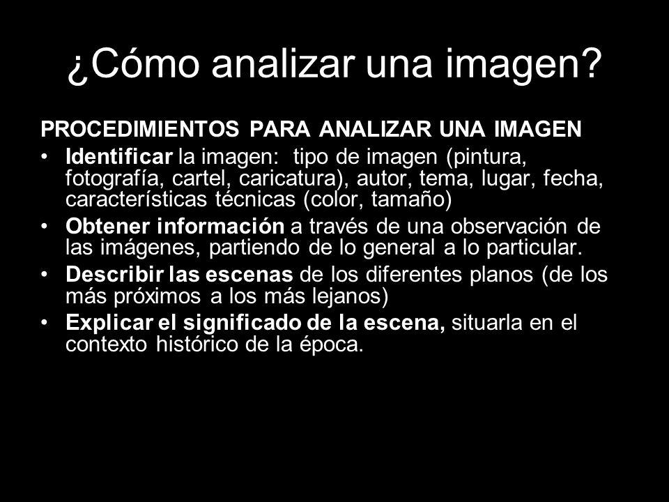 ¿Cómo analizar una imagen