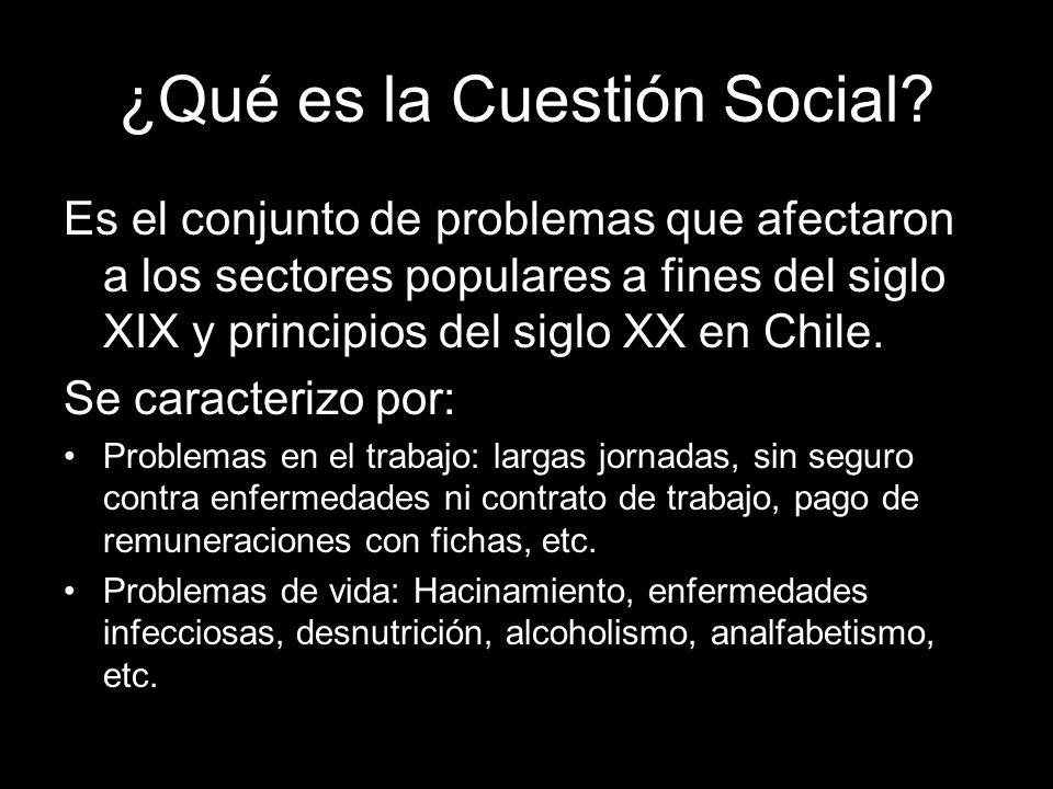 ¿Qué es la Cuestión Social