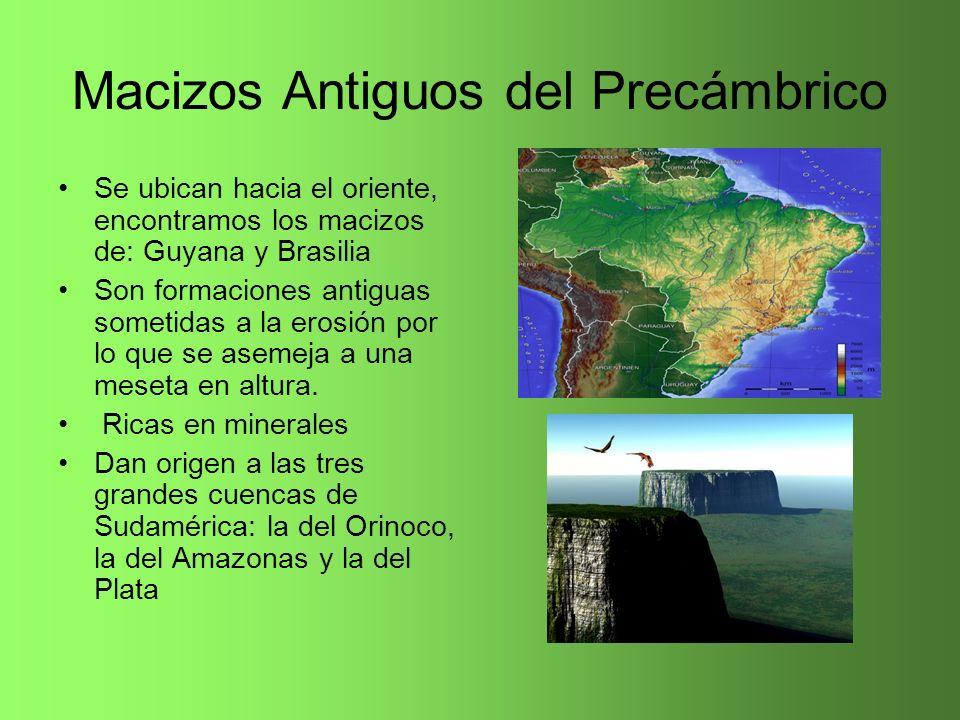 Macizos Antiguos del Precámbrico