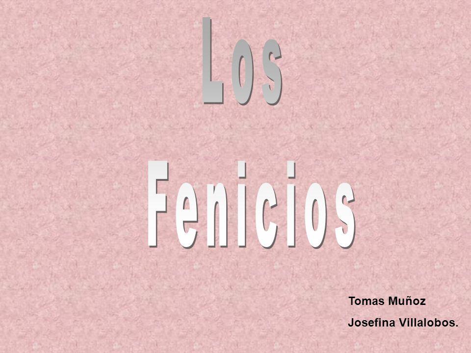 Los Fenicios Tomas Muñoz Josefina Villalobos.