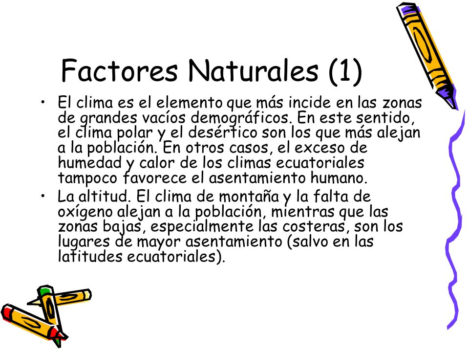 Factores Naturales (1)