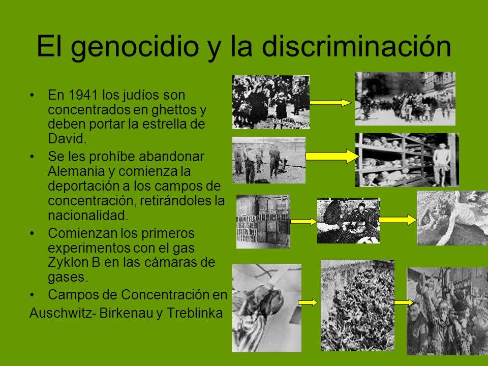 El genocidio y la discriminación