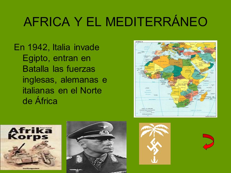 AFRICA Y EL MEDITERRÁNEO