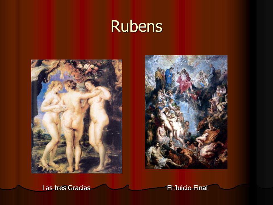 Rubens Las tres Gracias El Juicio Final