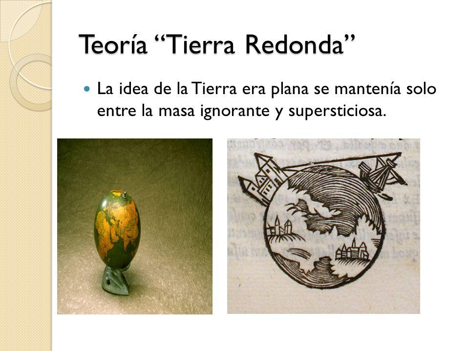 Teoría Tierra Redonda