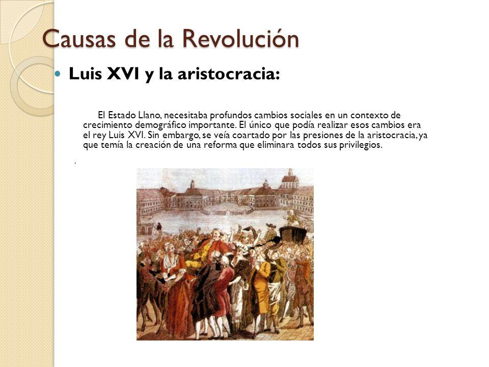 Causas de la Revolución