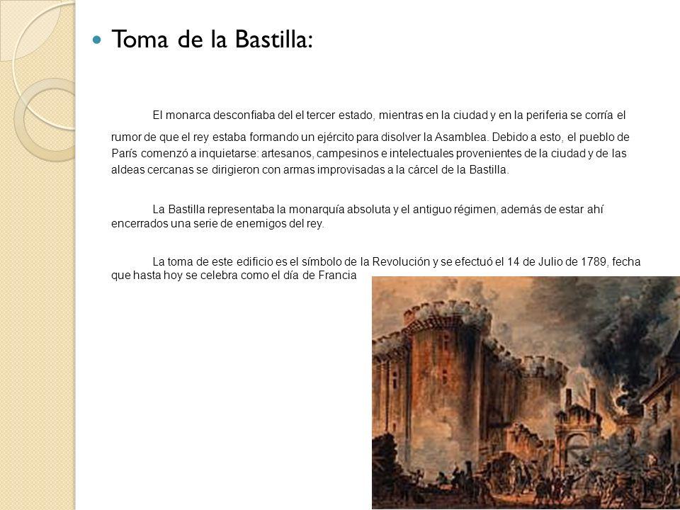 Toma de la Bastilla: