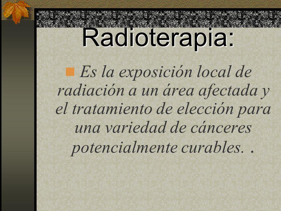 Radioterapia: