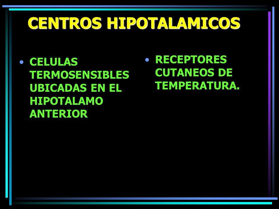 CENTROS HIPOTALAMICOS