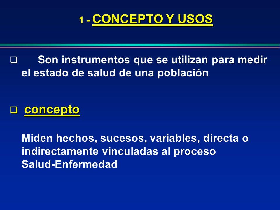 Salud-Enfermedad 1 - CONCEPTO Y USOS