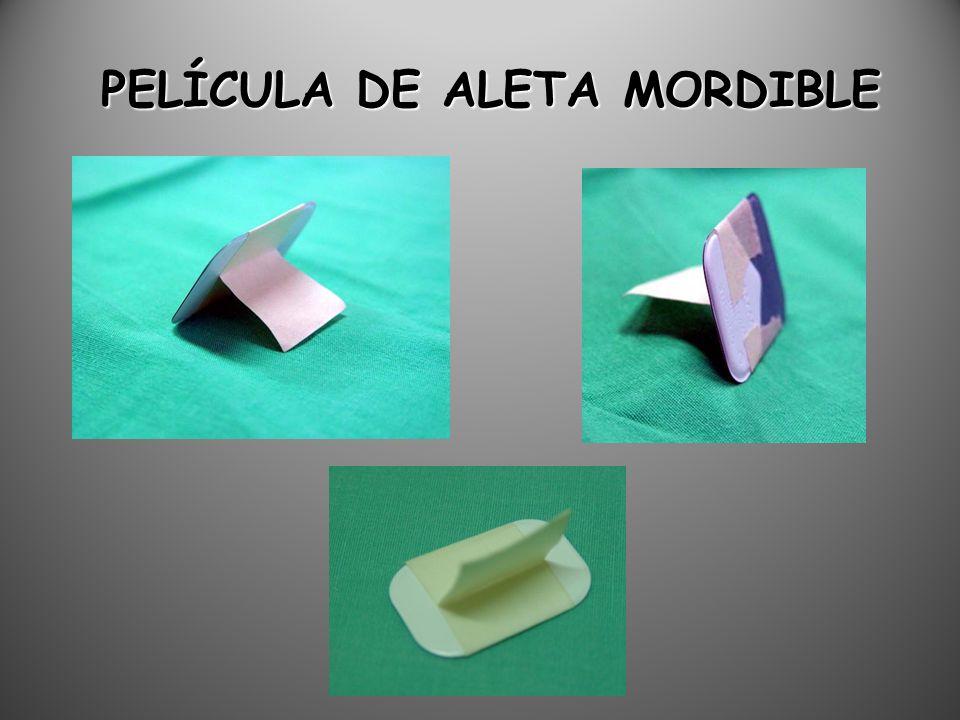 PELÍCULA DE ALETA MORDIBLE