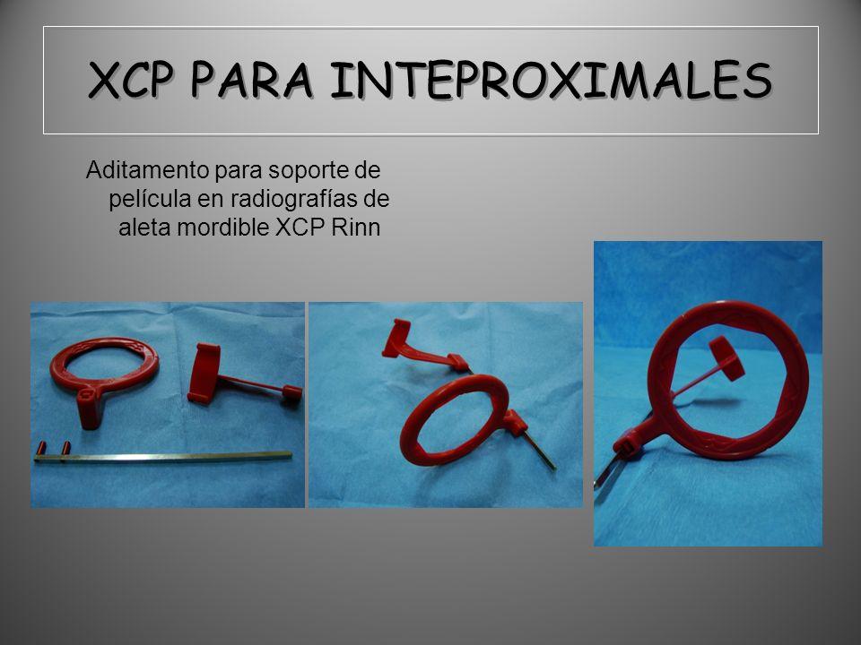 XCP PARA INTEPROXIMALES