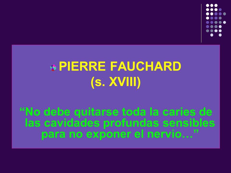 PIERRE FAUCHARD (s. XVIII)