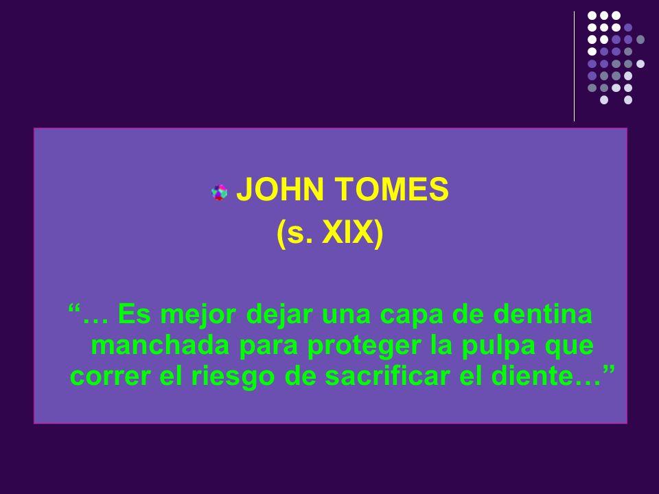 JOHN TOMES(s.