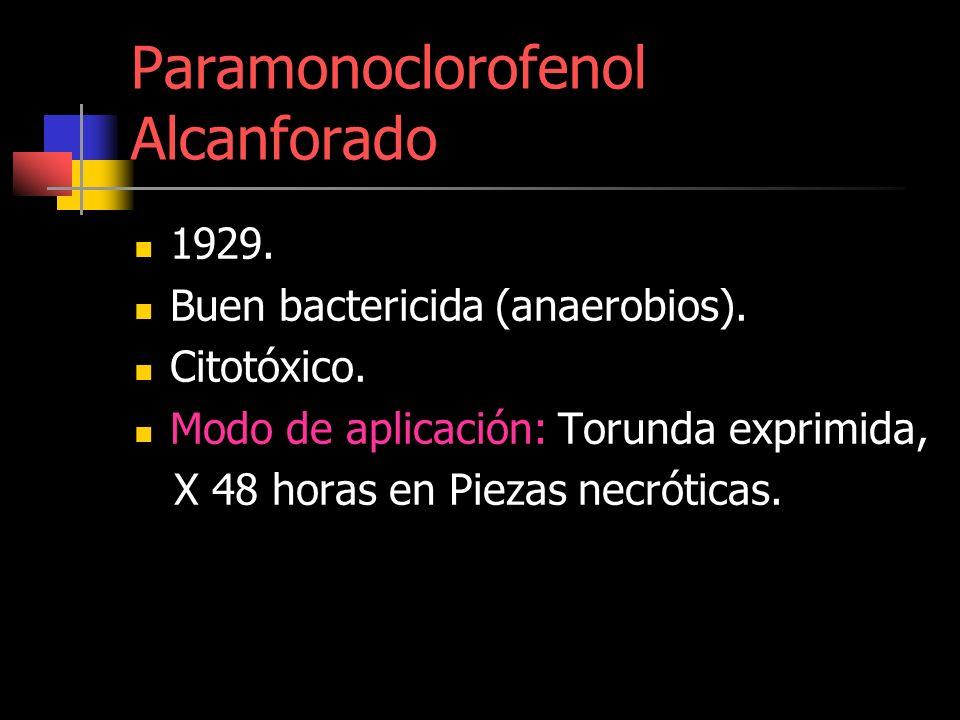 Paramonoclorofenol Alcanforado