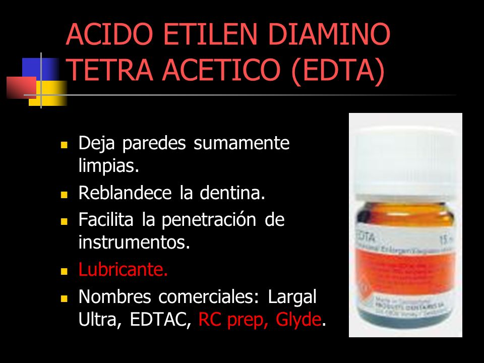 ACIDO ETILEN DIAMINO TETRA ACETICO (EDTA)