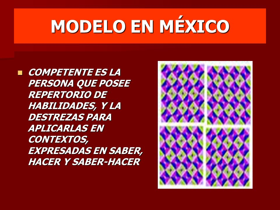 MODELO EN MÉXICO