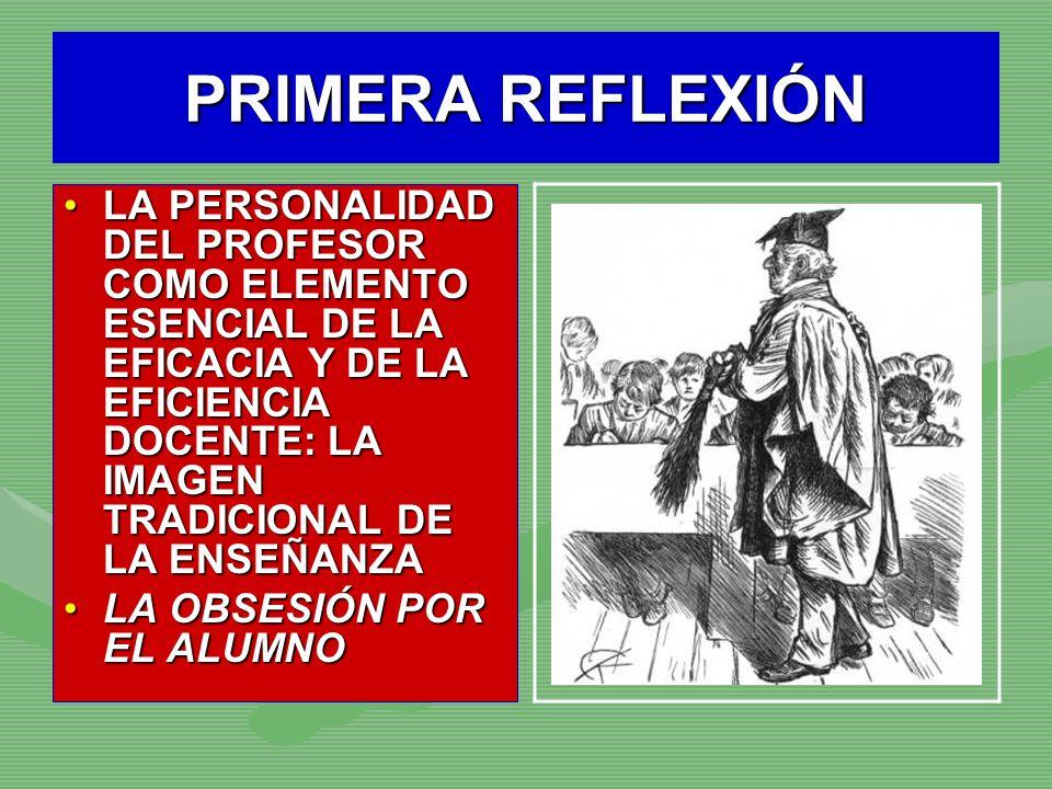 PRIMERA REFLEXIÓN