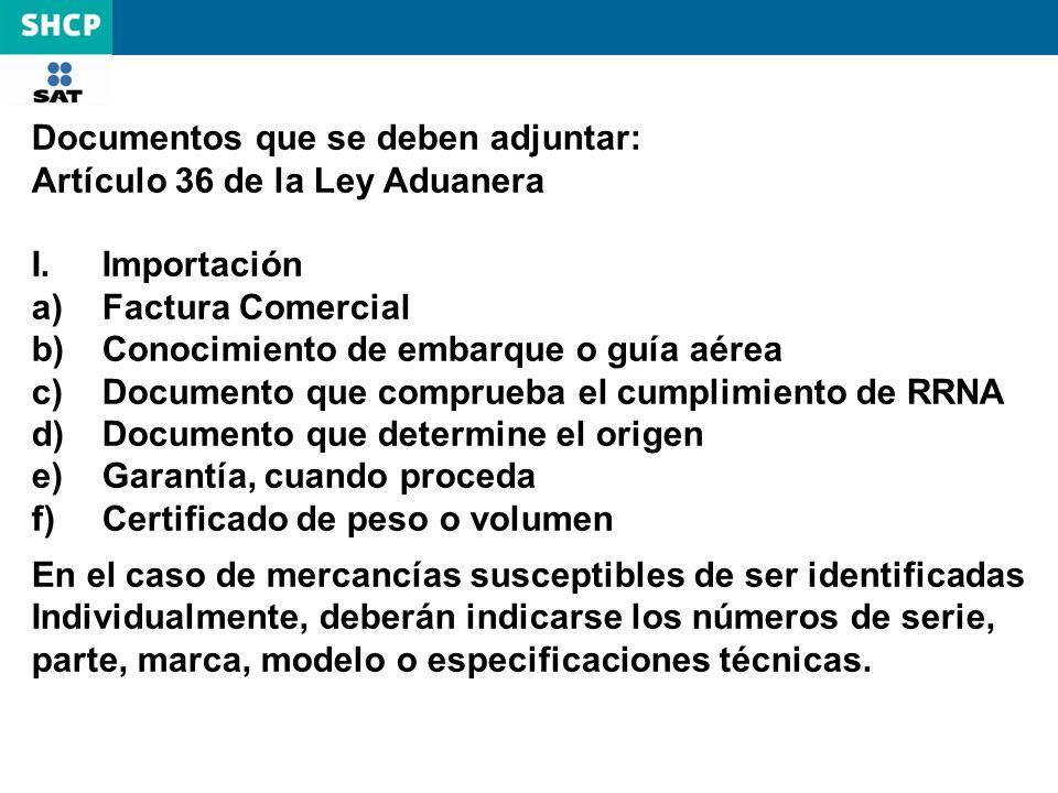 Documentos que se deben adjuntar: