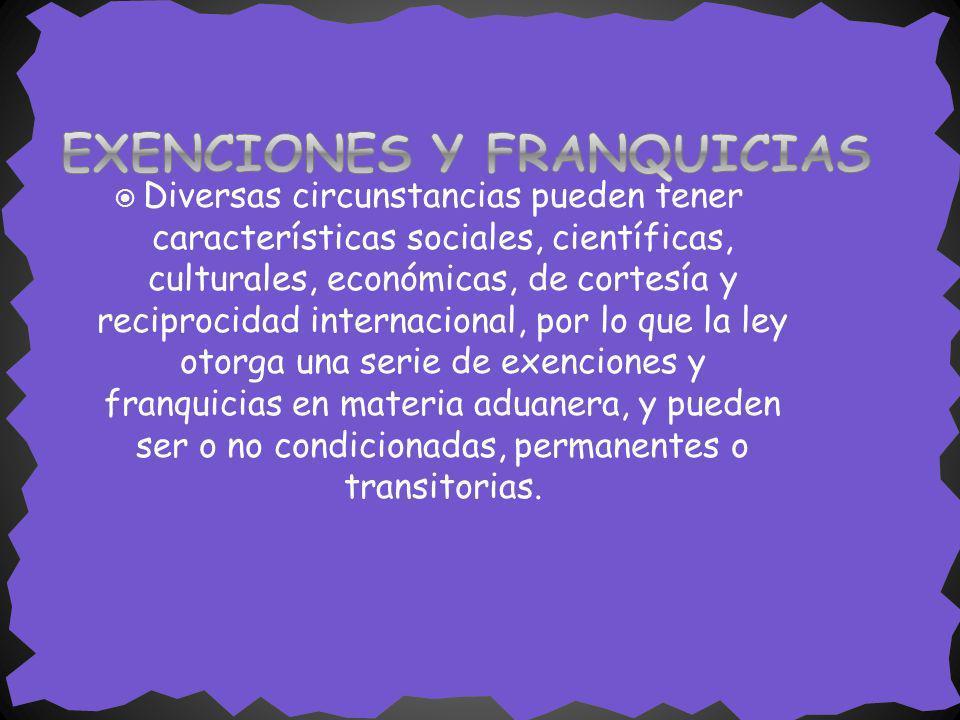 EXENCIONES Y FRANQUICIAS