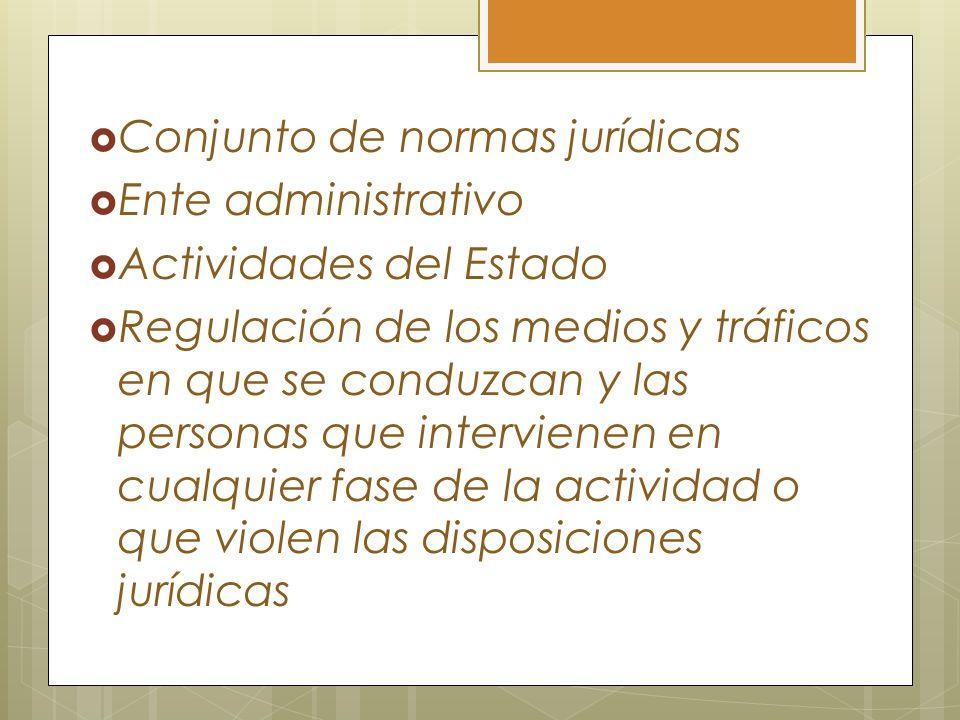 Conjunto de normas jurídicas
