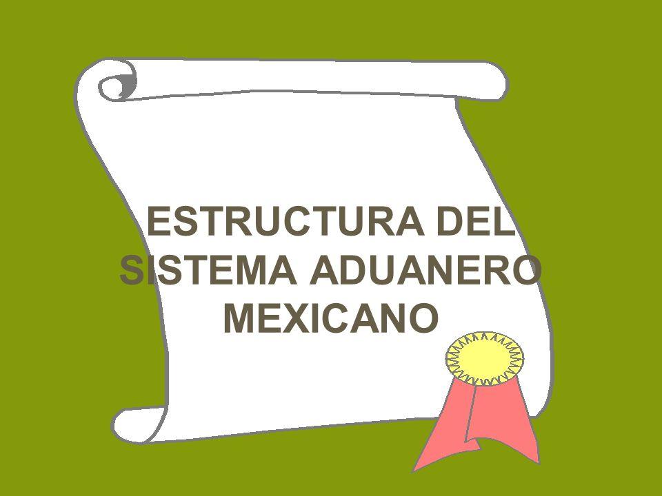 ESTRUCTURA DEL SISTEMA ADUANERO MEXICANO