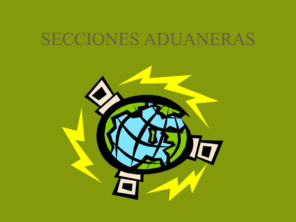 SECCIONES ADUANERAS
