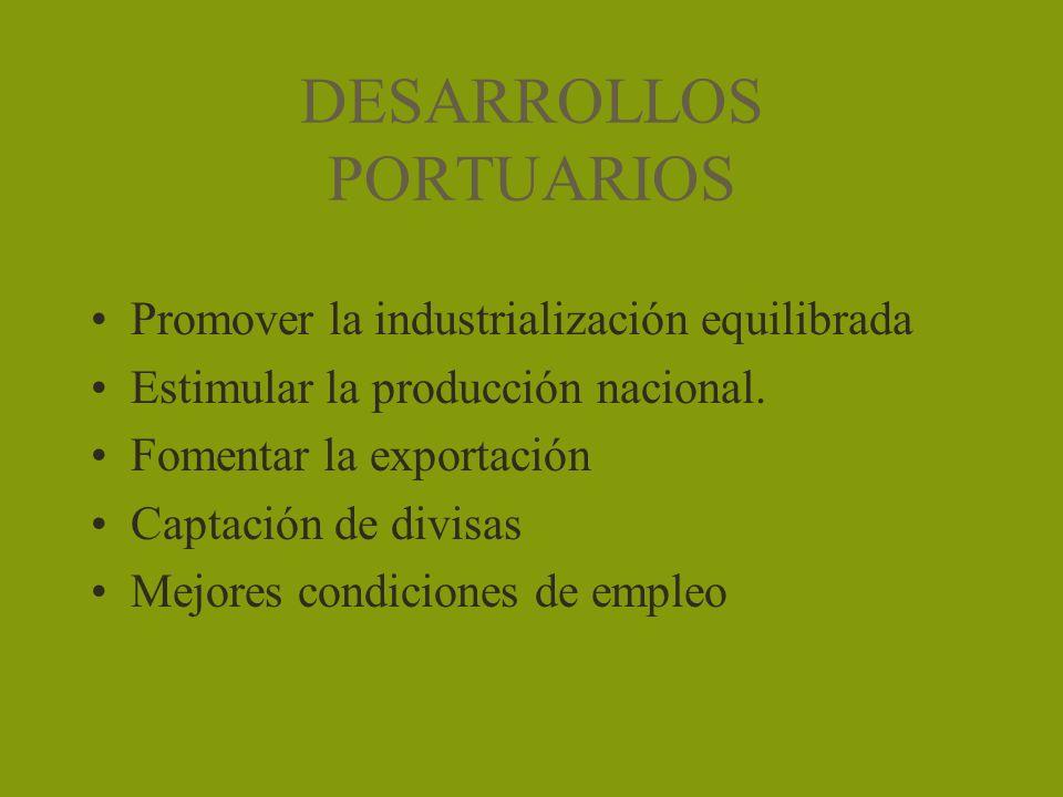 DESARROLLOS PORTUARIOS