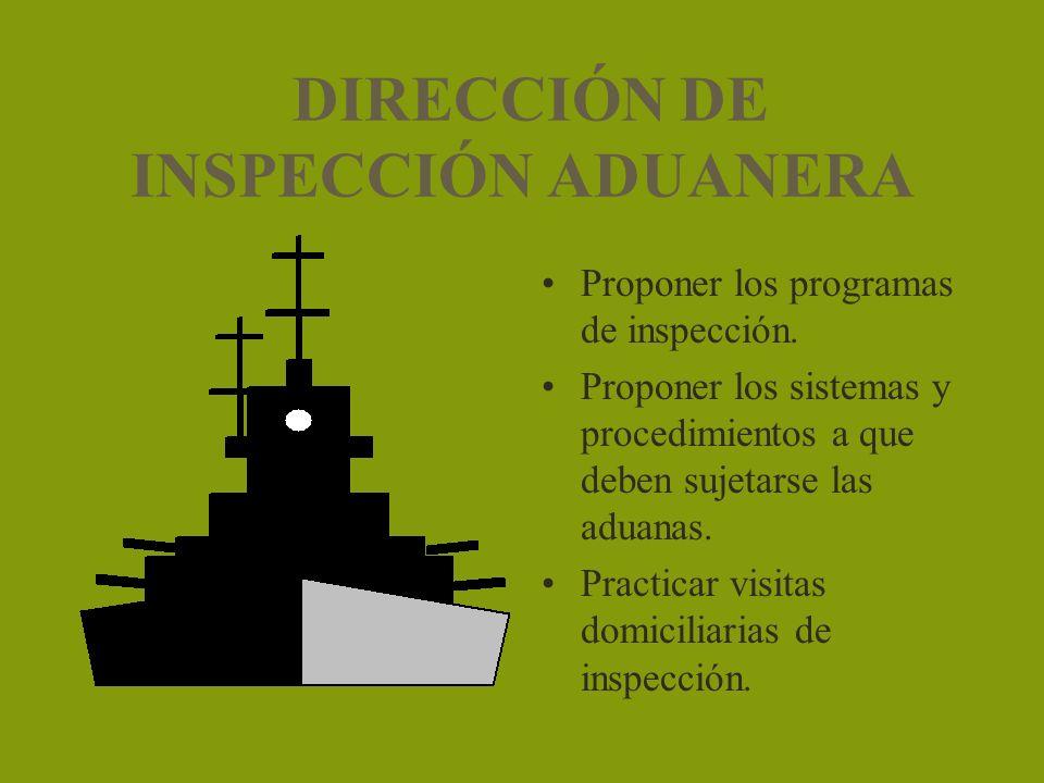 DIRECCIÓN DE INSPECCIÓN ADUANERA