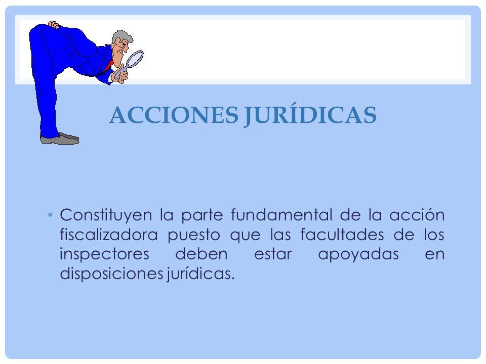 Acciones jurídicas
