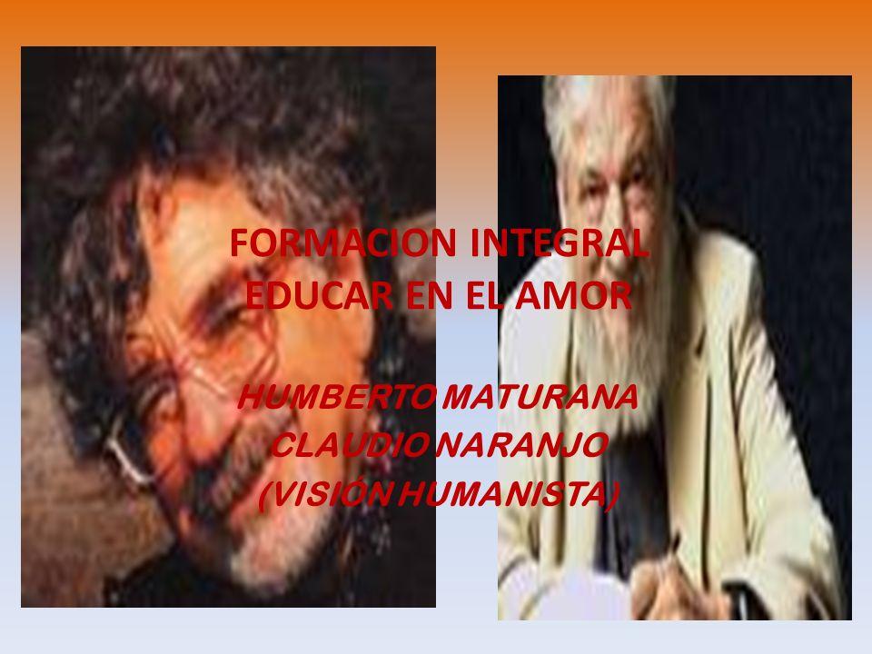 FORMACION INTEGRAL EDUCAR EN EL AMOR