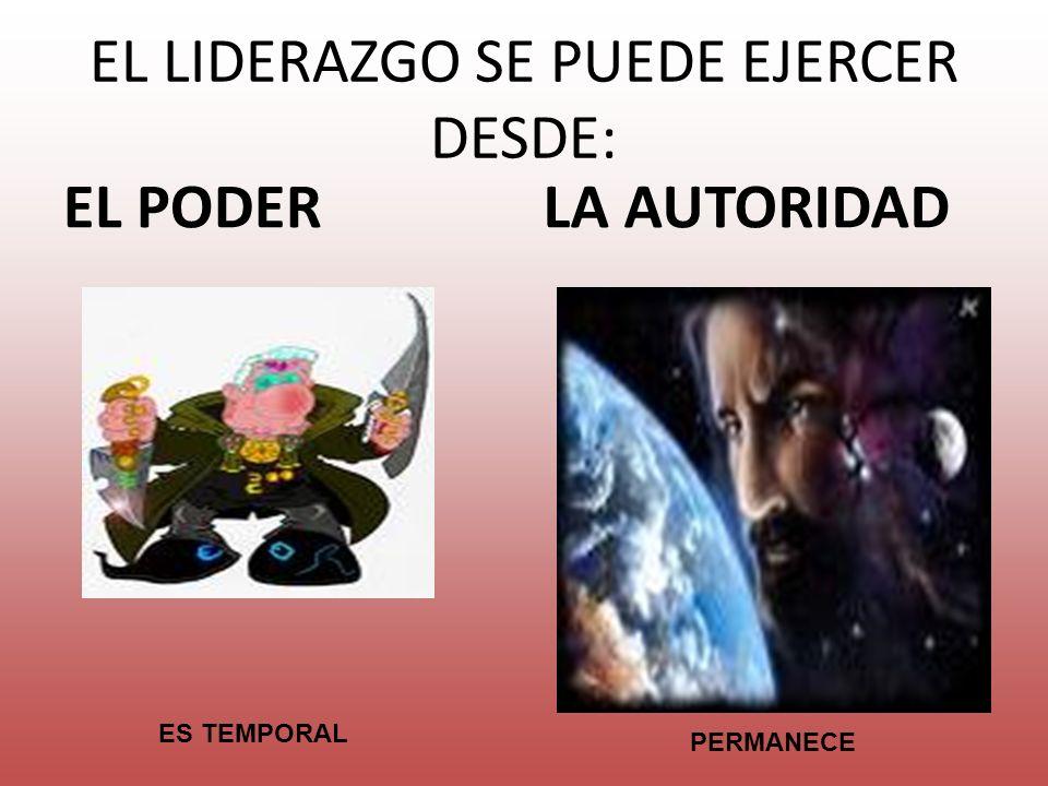 EL LIDERAZGO SE PUEDE EJERCER DESDE: