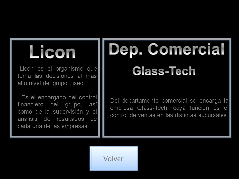 Licon Dep. Comercial Glass-Tech Volver