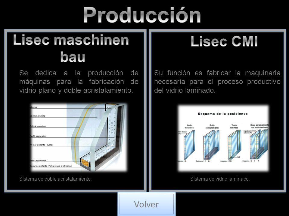 Producción Lisec maschinen Lisec CMI bau Volver