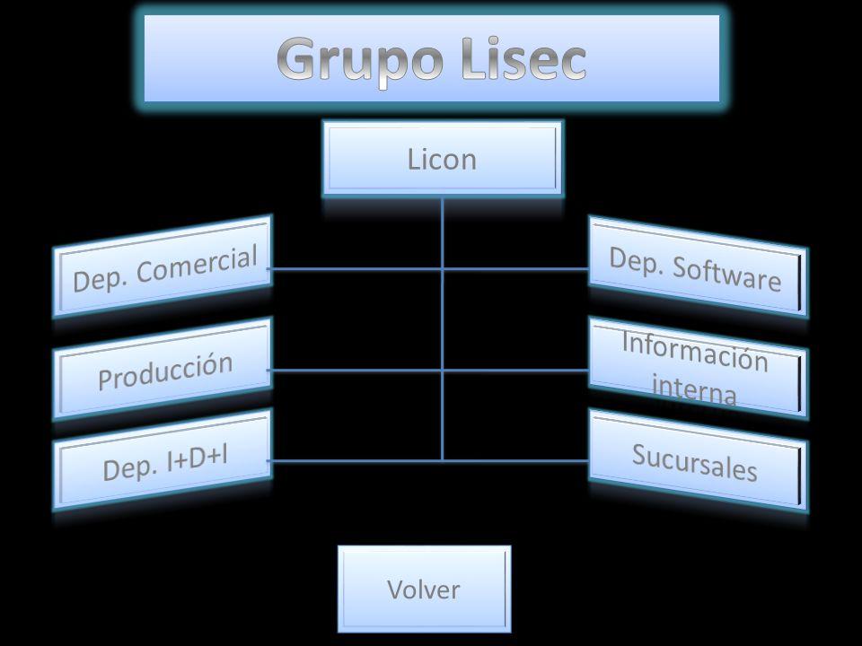 Grupo Lisec Licon Dep. Comercial Dep. Software Información interna