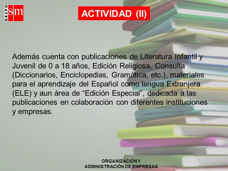 ACTIVIDAD (II)