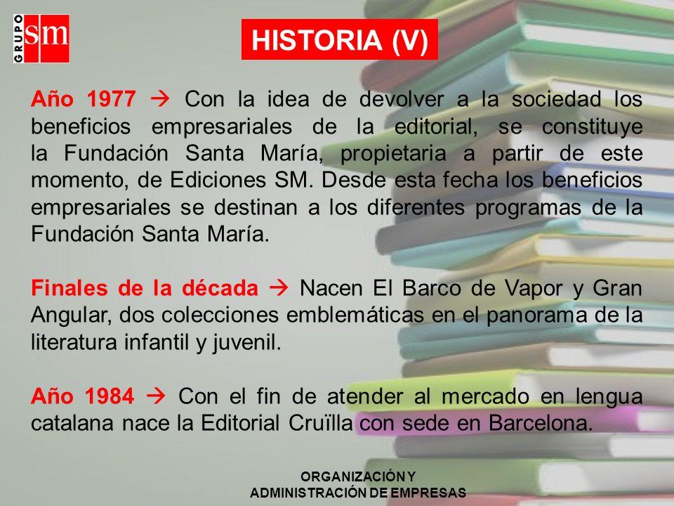HISTORIA (V)