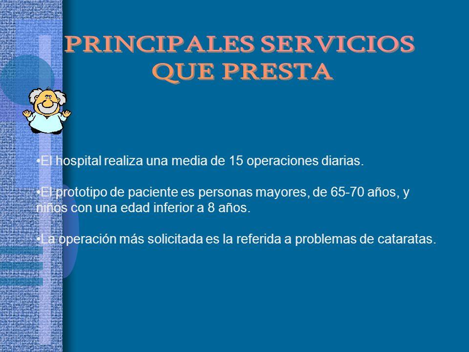PRINCIPALES SERVICIOS
