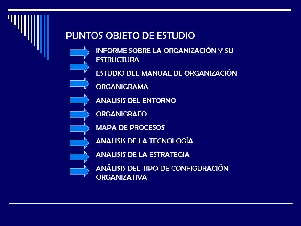 PUNTOS OBJETO DE ESTUDIO