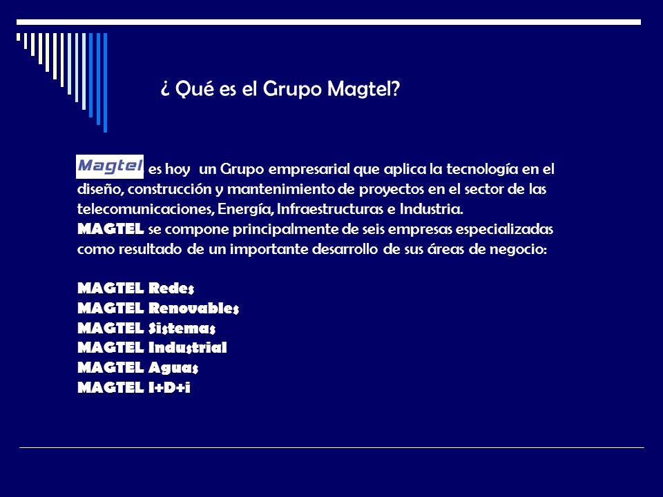 ¿ Qué es el Grupo Magtel