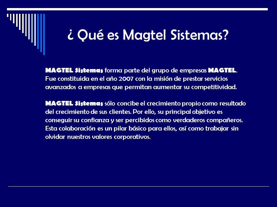 ¿ Qué es Magtel Sistemas
