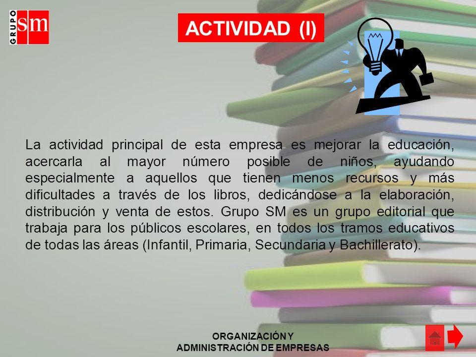 ACTIVIDAD (I)