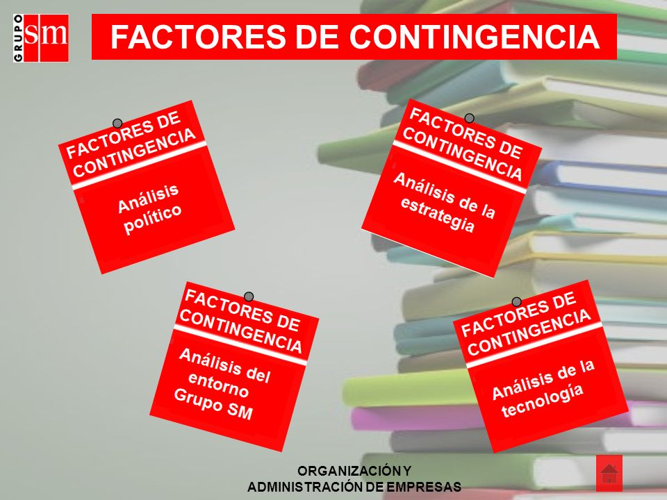 FACTORES DE CONTINGENCIA