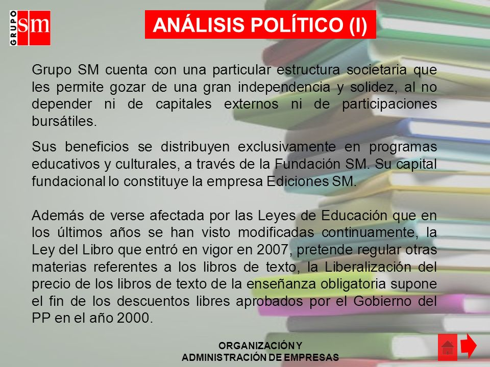 ANÁLISIS POLÍTICO (I)