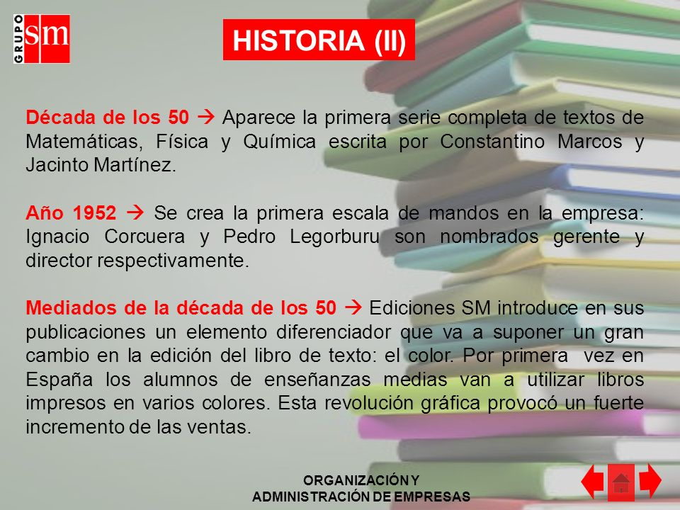 HISTORIA (II)