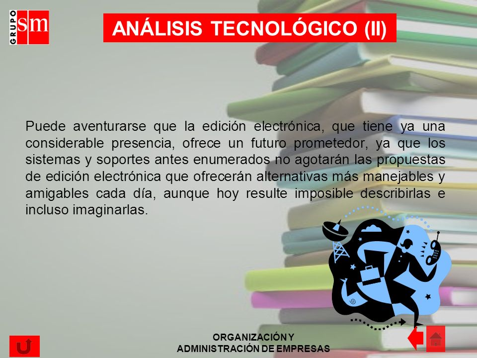 ANÁLISIS TECNOLÓGICO (II)