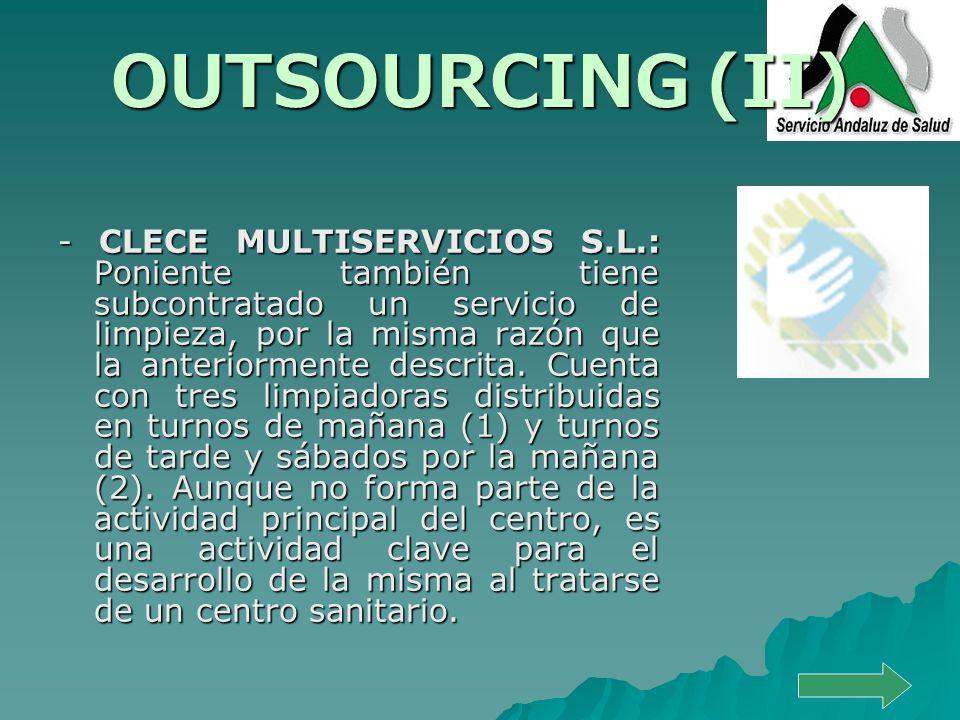 OUTSOURCING (II)